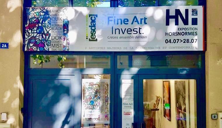 La galerie d'art ESDAC sur Aix-en-Provence : Le lieu