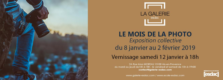 Exposition mois de la photo à la galerie ESDAC Aix-en-Provence